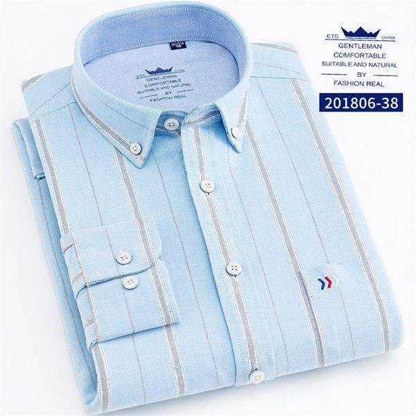 Fashion Stripe Shirt Dress Shirts