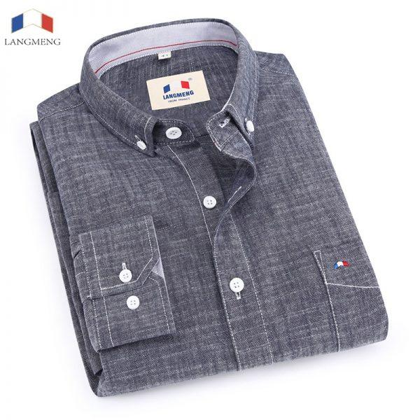 100% Bamboo Cotton Shirt Dress Shirts