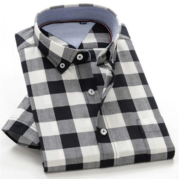 100% Cotton Plaid Shirts