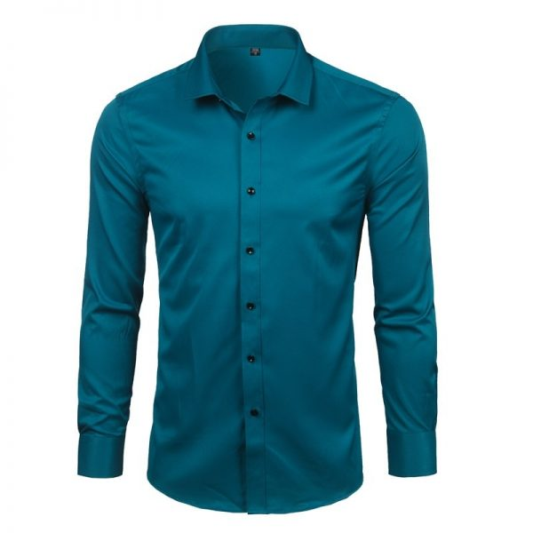 Bamboo Fiber Shirts Long Sleeve Shirt