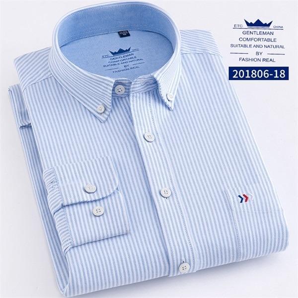 Fashion Stripe Shirt Long Sleeve Shirts