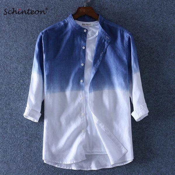 Linen Shirt Casual Shirts Men