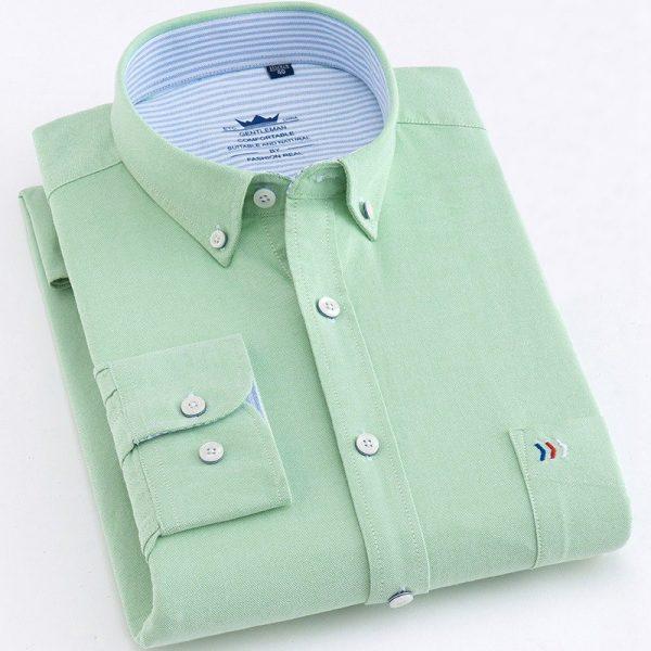 Long Sleeve Dress Shirt Oxford Shirt