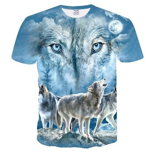 Printed 3D T shirts Men T-shirts