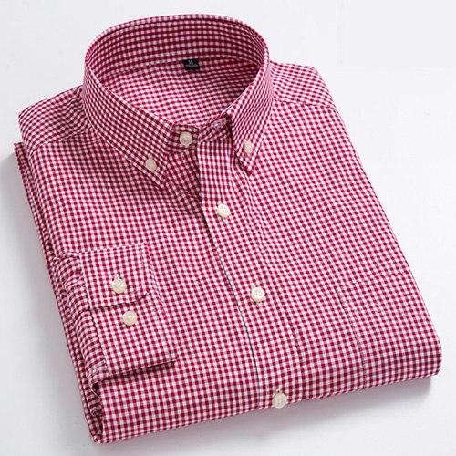 Smart Casual Shirt Men Dress Shirt