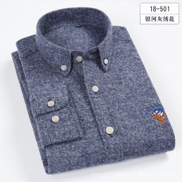 Spring Casual Shirts Dress Male Shirt