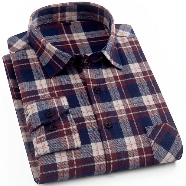 Sewing Mens Flannel Shirts?
