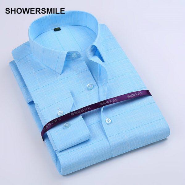 Bamboo Fiber Shirt Formal Party Dress Shirt