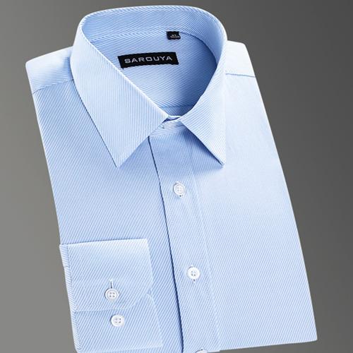 Basic Dress Shirt Business Twill Tops Shirts