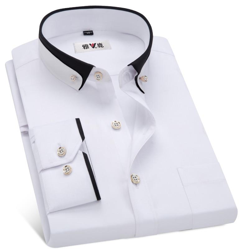 Business Dress Shirts Formal Collar Shirt