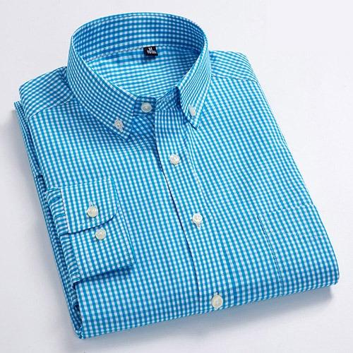 Casual Shirt Men Dress Shirts