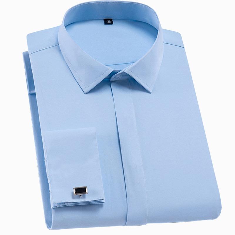 French Cufflinks Shirt Dress Shirts