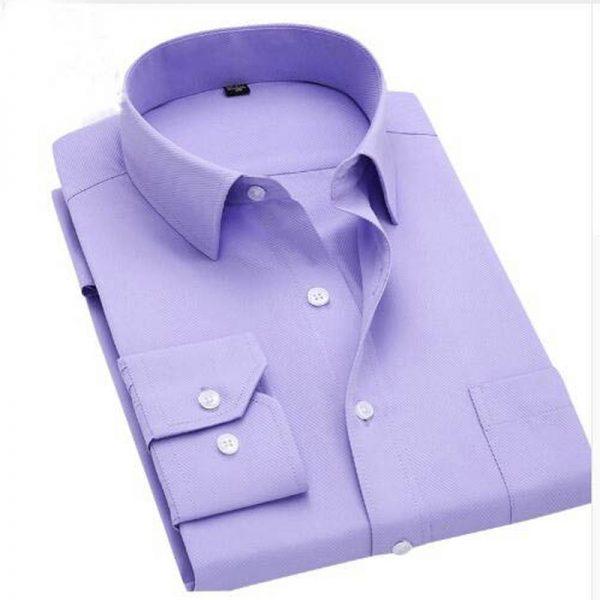 Long Sleeve Shirts Men Dress Shirt