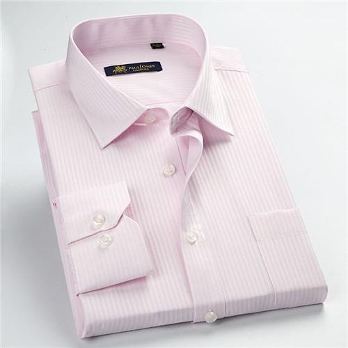 Men's Shirts Long Sleeve Turn Down Collar