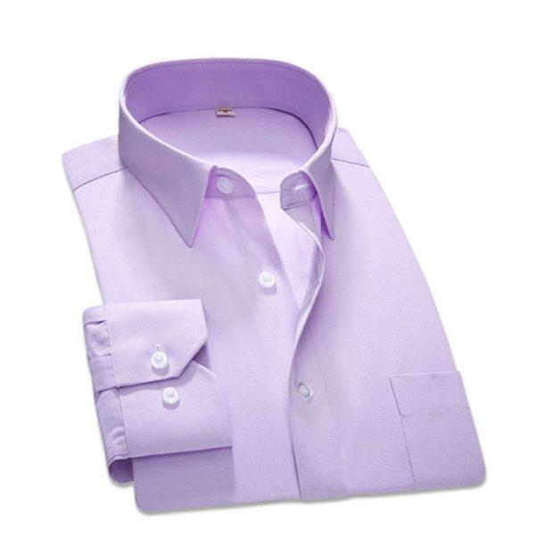 Men Dress Shirt Business Shirts