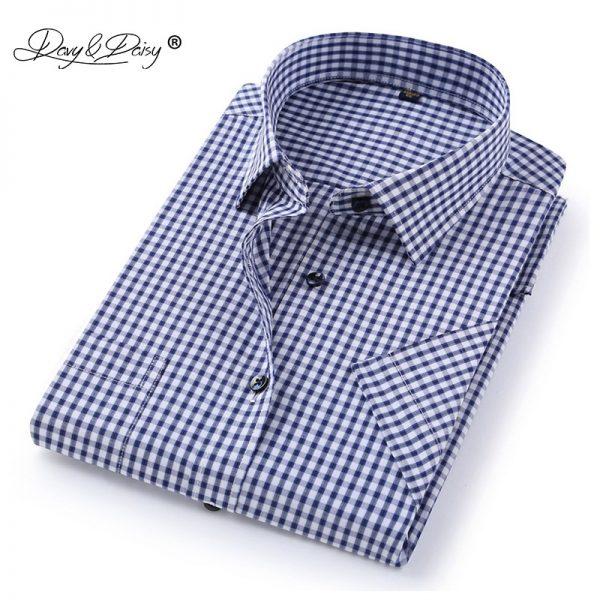 Men Shirts Fashion Work Casual Shirt