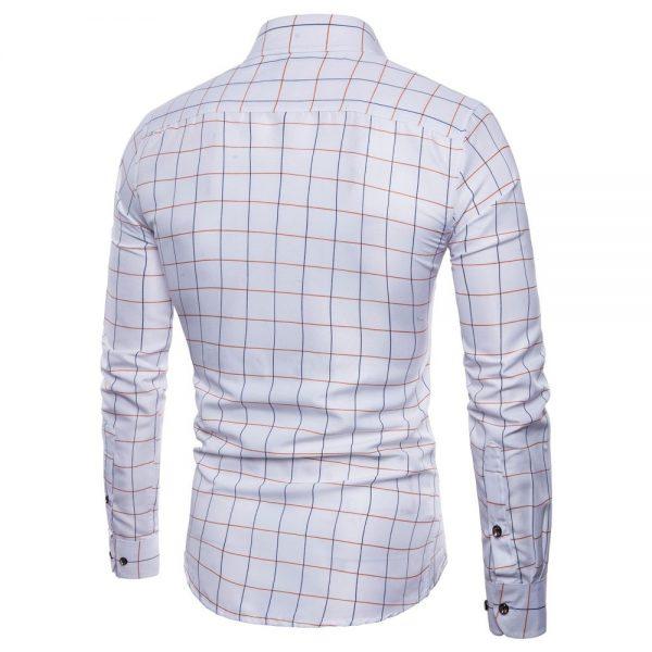 Men Soft Dress Shirts Oxford Casual Shirt