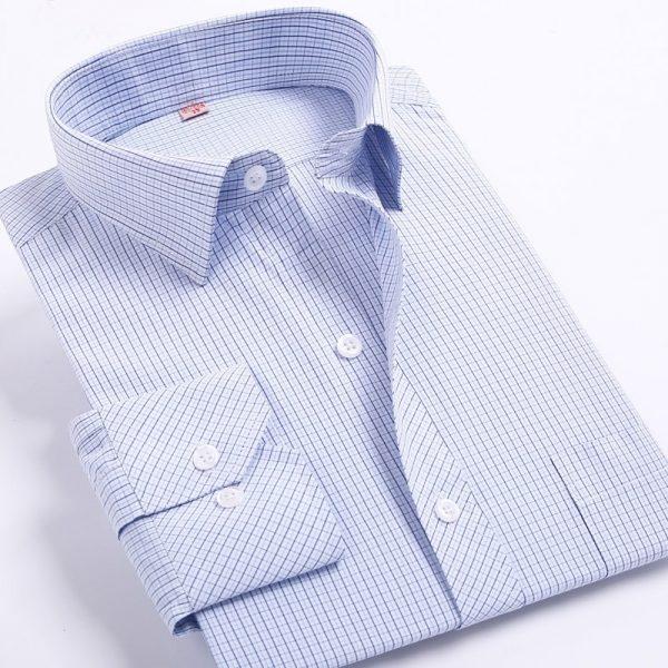 Men Striped Shirts Leisure Casual Shirt
