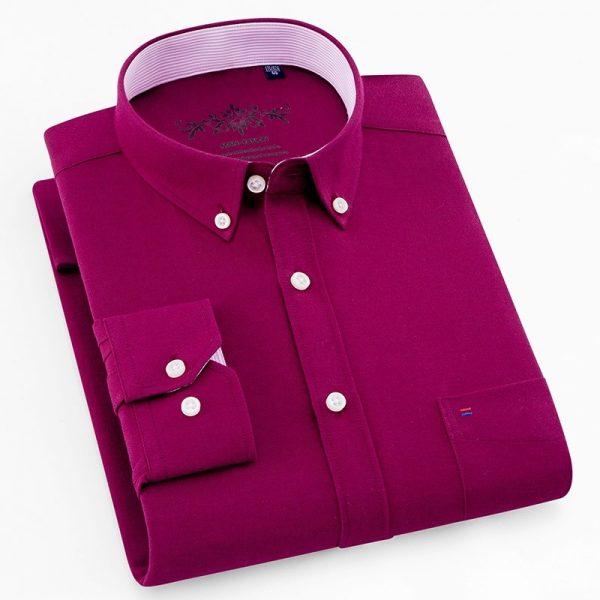 Oxford Shirts Cotton Slim Fit Dress Shirt