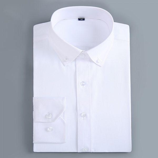 Slim Fit Shirts Button Down Dress Shirt