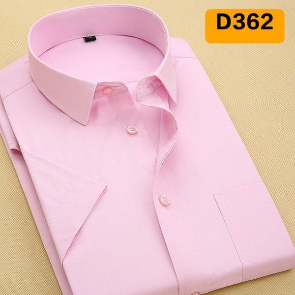 Summer Men Shirt Fashion Twill Male Shirts