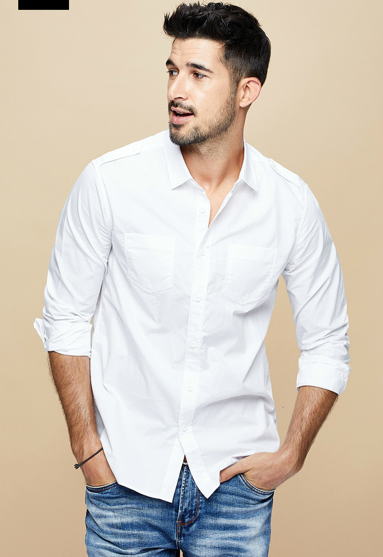 Why You Should Wear a White Shirt For Men