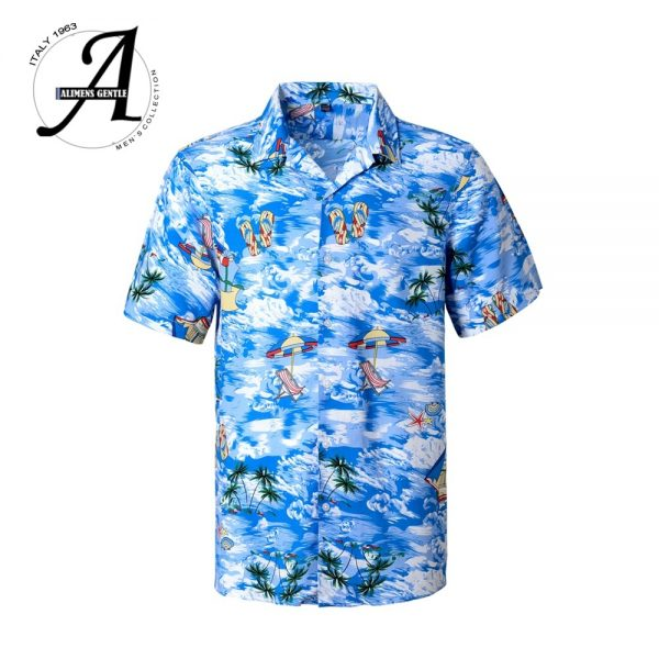 Beach Hawaiian Shirt Casual Floral Shirts