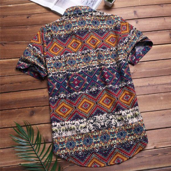 Beach Hawaiian Shirt Tropical Summer Shirt
