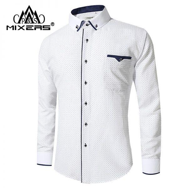 Business Casual Shirts Men Dress Shirts