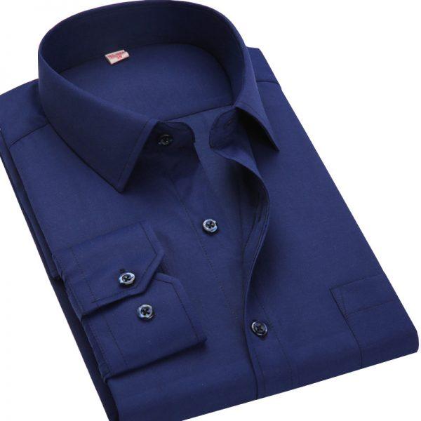 Business Shirts Casual Long Sleeved Shirt