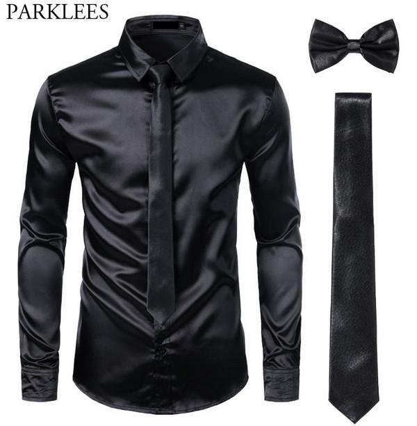 Choosing a Black Dress Shirt That Looks Great