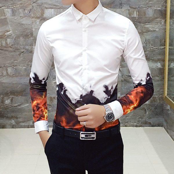 Fashion Night Club Party Shirt