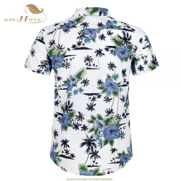 Hawaiian Shirt Floral Print Summer Shirts