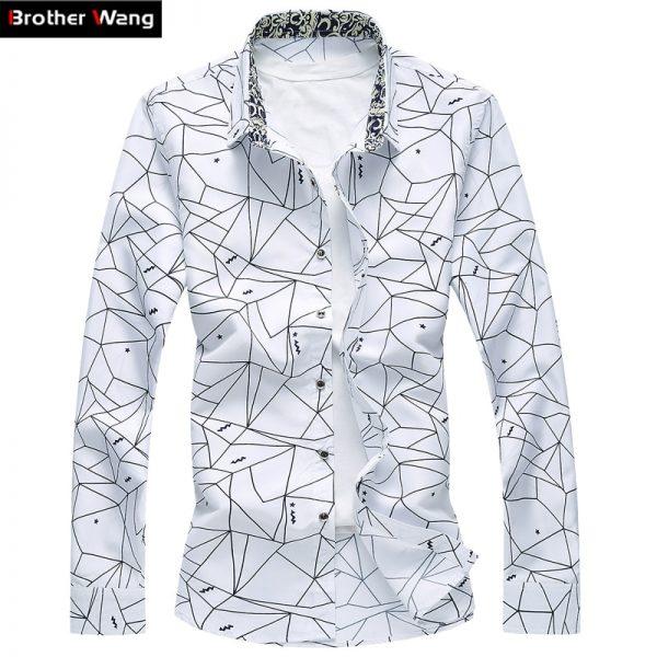 Long Sleeve Shirt Business Leisure Shirts