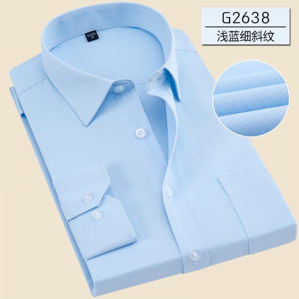 Long Sleeve Shirt Formal Men Dress Shirt