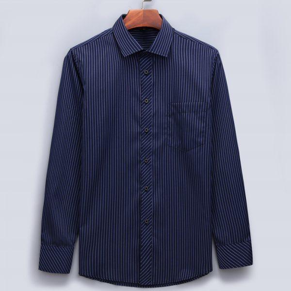 Long Sleeved Shirt Classic Striped Shirts