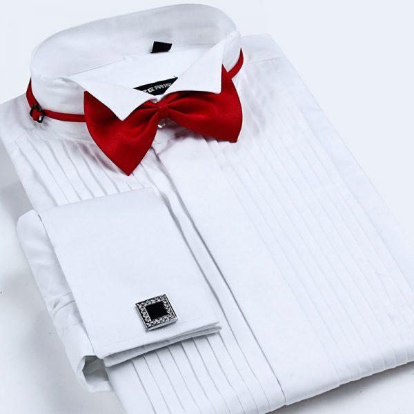 Men's French Cuff Tuxedo Shirt