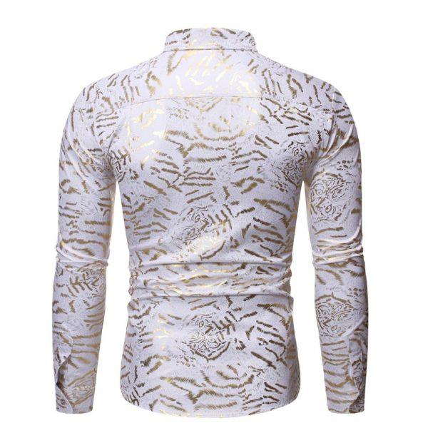 Men's Shirt Collar Shirts Blouse