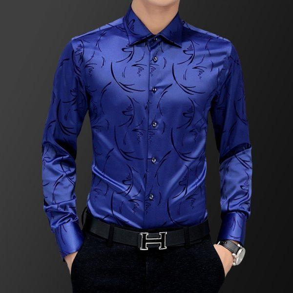 Men's Shirt Wedding Party Dress