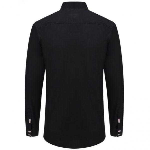 Men's Shirts British Business Slim Fit Shirt
