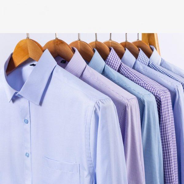 Men Plaid Shirts Prom Dress Shirts