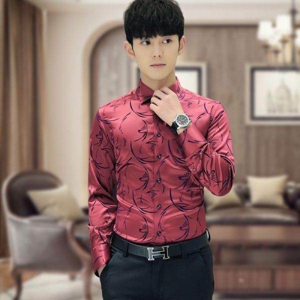 Mens Formal Shirts Tuxedo Shirt