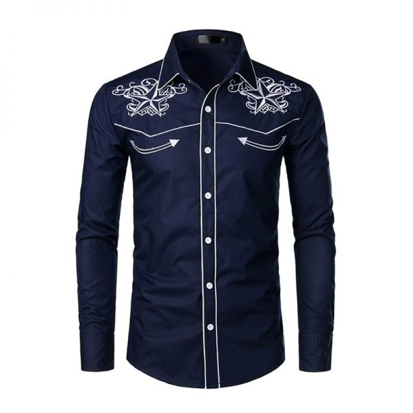 Western Cowboy Shirt Party Shirt