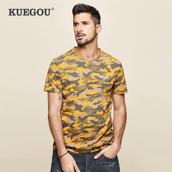 100% Cotton Camouflage T Shirt