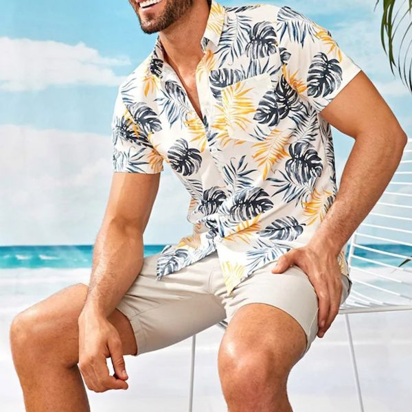 Beach Men Shirt Hawaiian Shirt