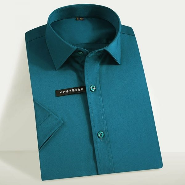 Easy Care Solid Dress Shirts