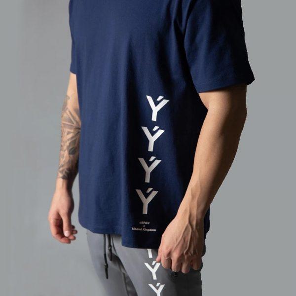 Men Short Sleeve Cotton T-shirt