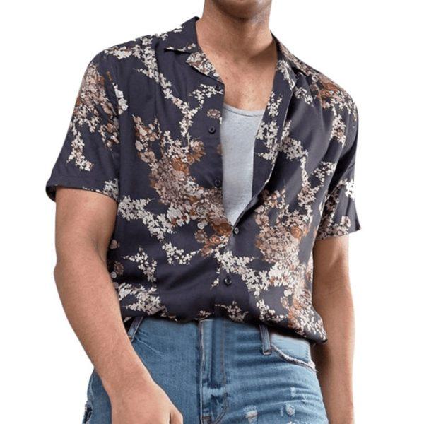 Summer Shirts Flora Printing Shirts