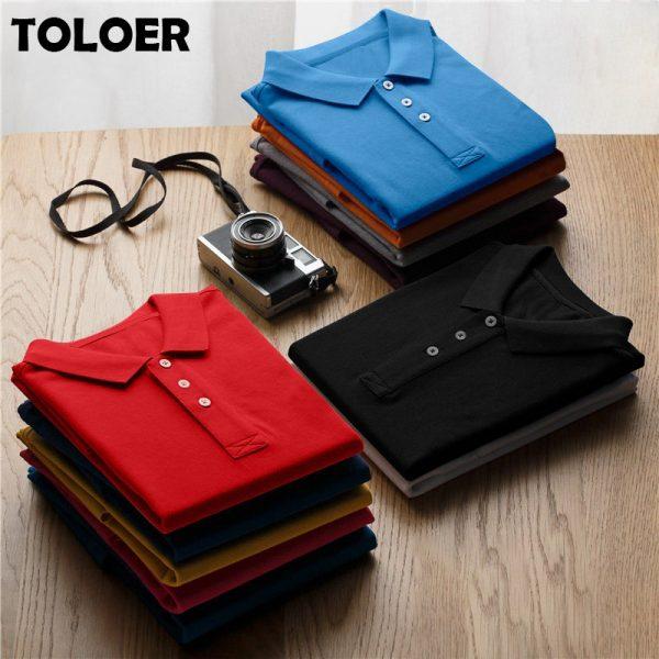100% Cotton Polo Shirt Color Shirt