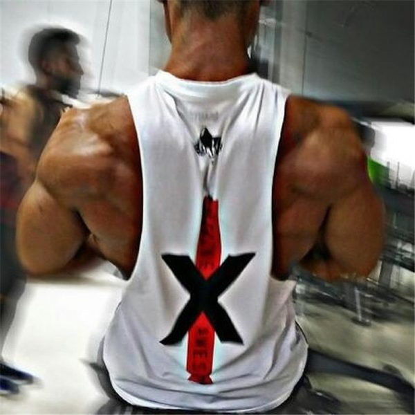 Bodybuilding Cotton Tank Tops
